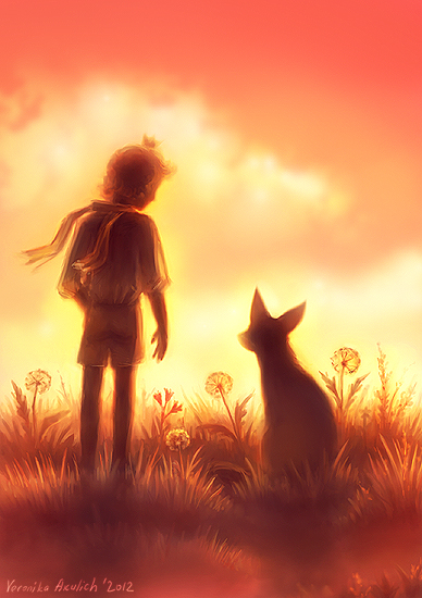 the_little_prince_and_the_fox___speedpaint__by_leffsha-d57xvmq